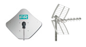Dish and Antenna